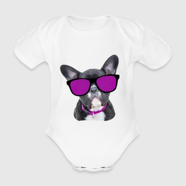 Bull The Dog - Baby Bio-Kurzarm-Body