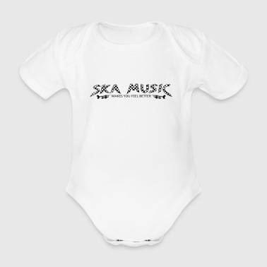 ska - Organic Short-sleeved Baby Bodysuit