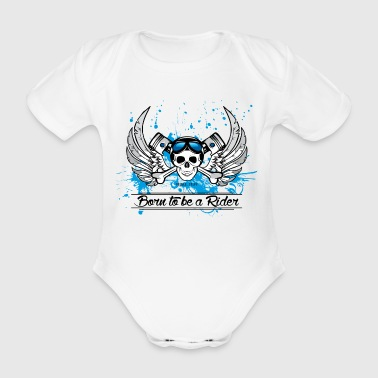Born to be a Rider - Body bébé bio manches courtes