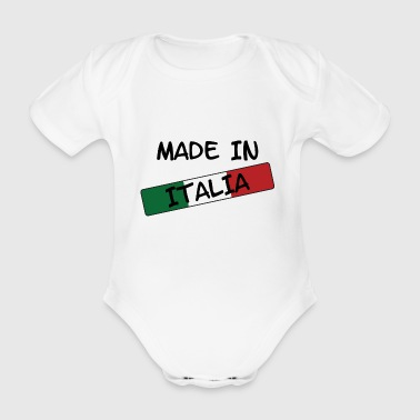 Made in ITALIA ! - Body bébé bio manches courtes