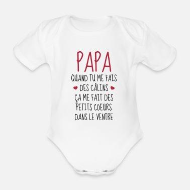 4f363b5dee0f4 Papa - Fête des Pères - Bébé - Naissance - Baby Body Bébé bio ...