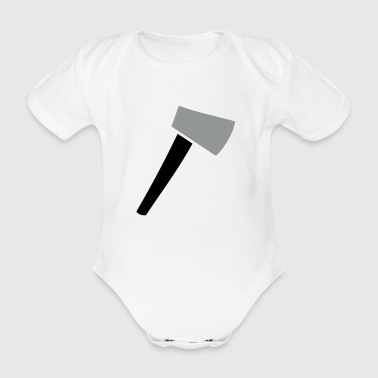 Axe - Organic Short-sleeved Baby Bodysuit