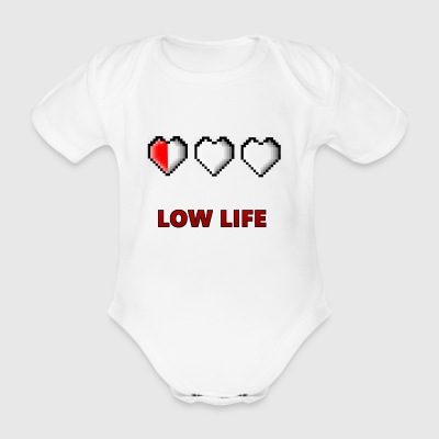 Low life - Organic Short-sleeved Baby Bodysuit