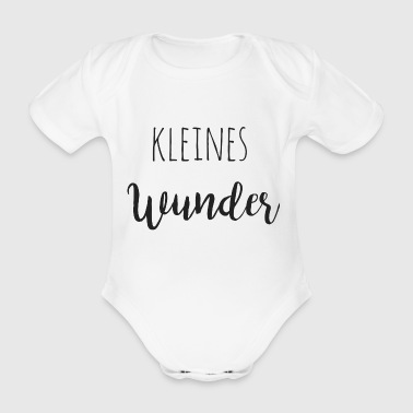 Little wonder - Organic Short-sleeved Baby Bodysuit