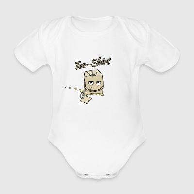 Tea-Shirt - Organic Short-sleeved Baby Bodysuit