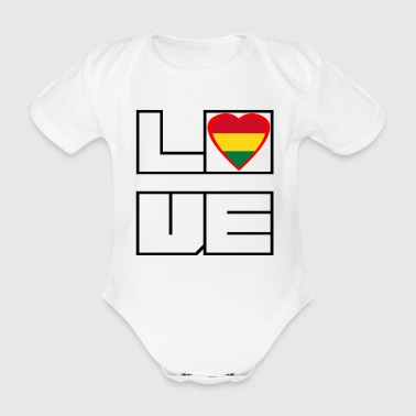 Loveland Roots Bolivie - Body bébé bio manches courtes