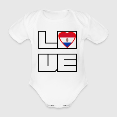 Love Land Roots Paraguay - Baby Bio-Kurzarm-Body