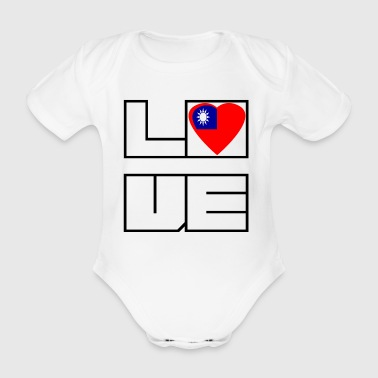 Love Land Roots Taiwan - Baby Bio-Kurzarm-Body