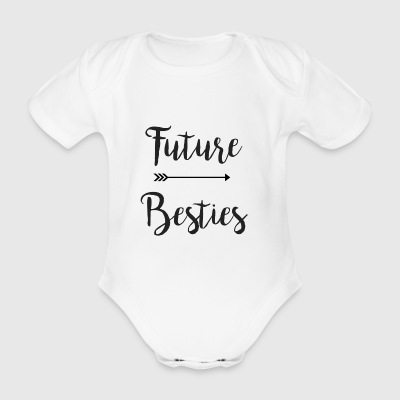 Future Besties Part 2 - Organic Short-sleeved Baby Bodysuit