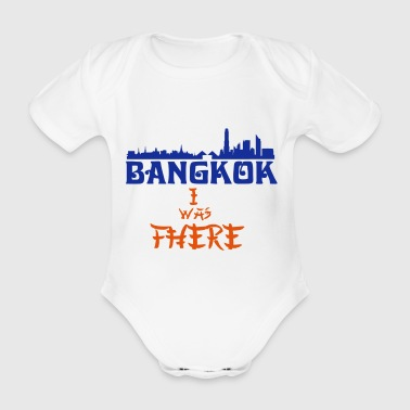 I Was There Bangkok - Organic Short-sleeved Baby Bodysuit