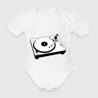 turntable - Baby Bio-Kurzarm-Body