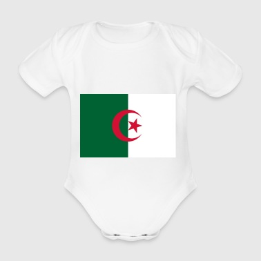 Algeria - Organic Short-sleeved Baby Bodysuit