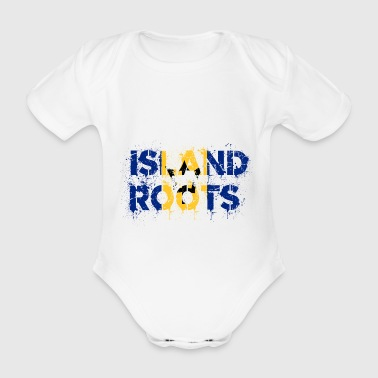 Barbados Roots - Organic Short-sleeved Baby Bodysuit