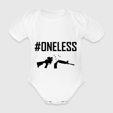 oneless - Organic Short-sleeved Baby Bodysuit