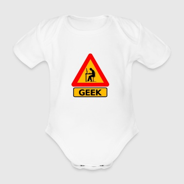 Attention Geek ! - Body bébé bio manches courtes