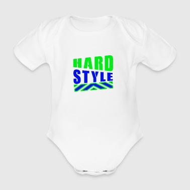 Hard Style - Organic Short-sleeved Baby Bodysuit