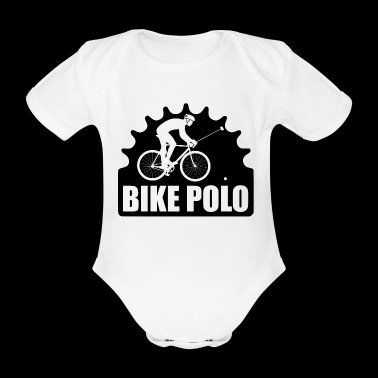 WHEEL POLO - Organic Short-sleeved Baby Bodysuit