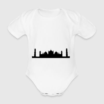 mosque - Organic Short-sleeved Baby Bodysuit