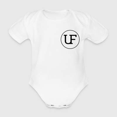 Urban Forest Logo - Organic Short-sleeved Baby Bodysuit