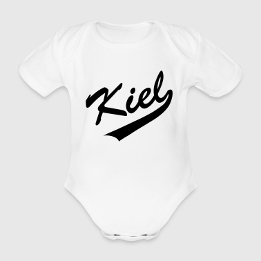 Kiel Old School - Baby Bio-Kurzarm-Body