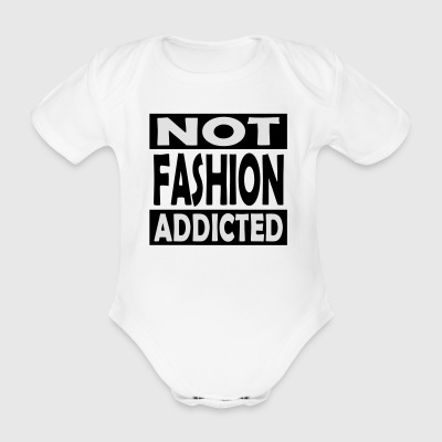 Not_Fashion_Addicted - Vauvan lyhythihainen luomu-body