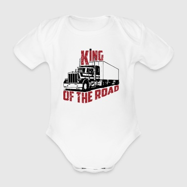 King Of The Road - Body bébé bio manches courtes