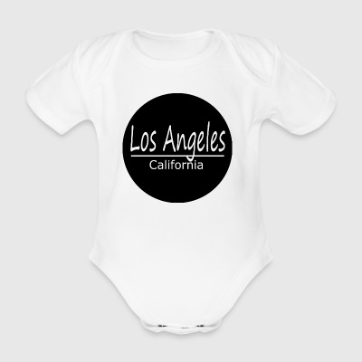 Los Angeles - Organic Short-sleeved Baby Bodysuit