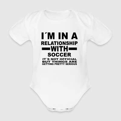 Relationship with SOCCER - Organic Short-sleeved Baby Bodysuit