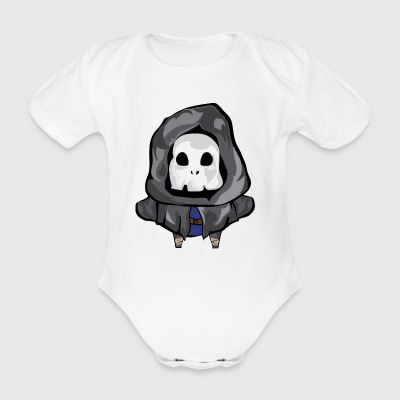 Halloween monster - Organic Short-sleeved Baby Bodysuit