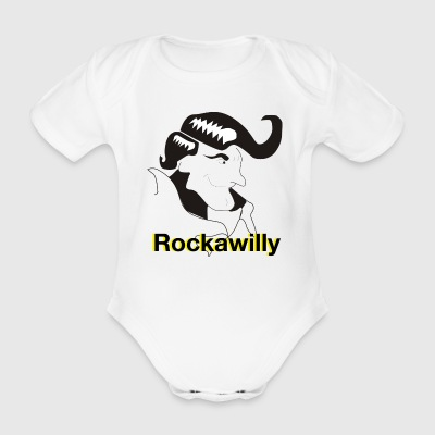 Rockawilly - Organic Short-sleeved Baby Bodysuit