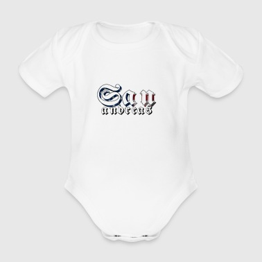 San Andreas - Organic Short-sleeved Baby Bodysuit