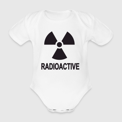 radiant safety - Organic Short-sleeved Baby Bodysuit