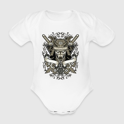 samurai - Organic Short-sleeved Baby Bodysuit