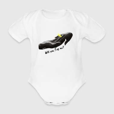Will You Tag me? #2 - Organic Short-sleeved Baby Bodysuit