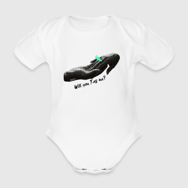 Will You Tag Me? #1 - Organic Short-sleeved Baby Bodysuit