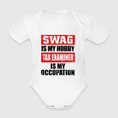 tax examiner - Organic Short-sleeved Baby Bodysuit