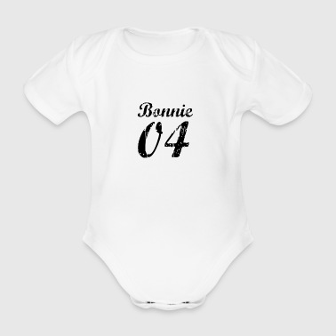Bonnie and Clyde - April - Vintage - Organic Short-sleeved Baby Bodysuit