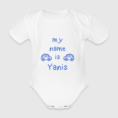 YANIS MY NAME IS - Body bébé bio manches courtes