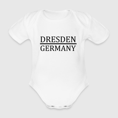 Dresden - Germany - Baby Bio-Kurzarm-Body