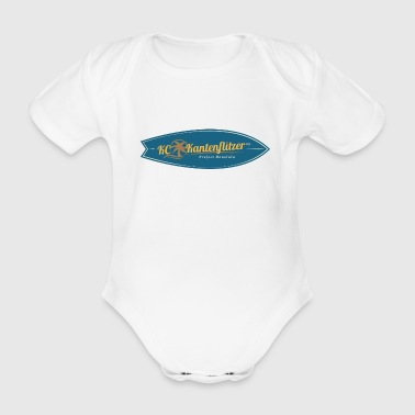 KC Kantenflitzer 09 - The Original - Organic Short-sleeved Baby Bodysuit