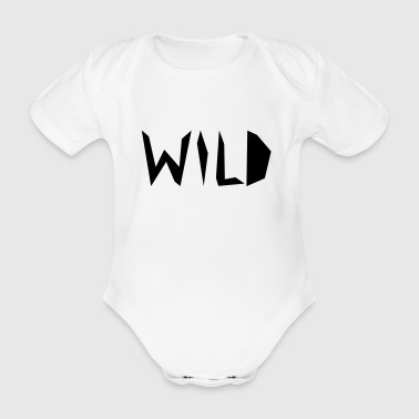 wild - Organic Short-sleeved Baby Bodysuit