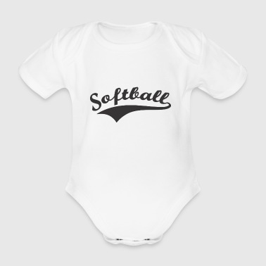 Softball - Baby Bio-Kurzarm-Body