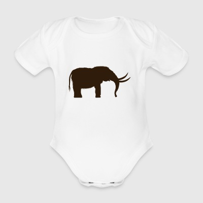 mammoth - Organic Short-sleeved Baby Bodysuit