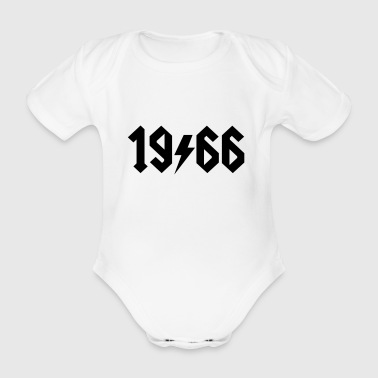 6061912 124391220 1966 - Organic Short-sleeved Baby Bodysuit