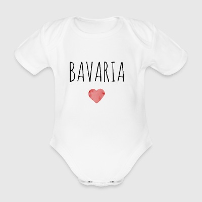 Bavaria - Organic Short-sleeved Baby Bodysuit
