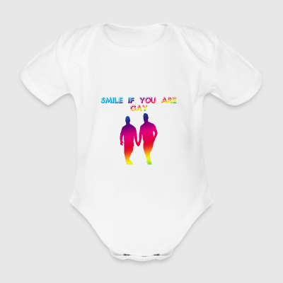 Gay1 - Organic Short-sleeved Baby Bodysuit
