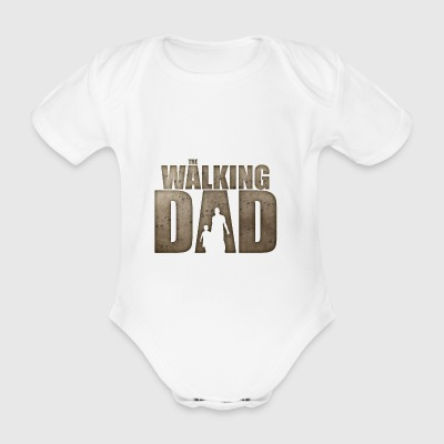 The Walking Dad - Baby Bio-Kurzarm-Body