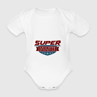 Great daughter - Organic Short-sleeved Baby Bodysuit
