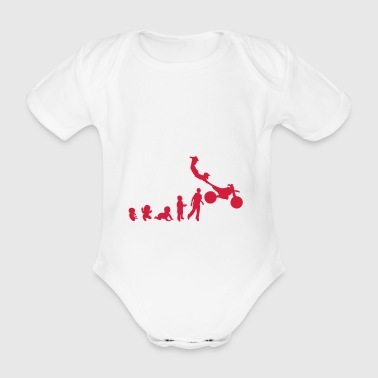 Evolution Freestyle 5 motrocycle Motocross - Baby Bio-Kurzarm-Body