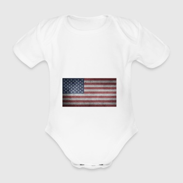 american eagle - Organic Short-sleeved Baby Bodysuit